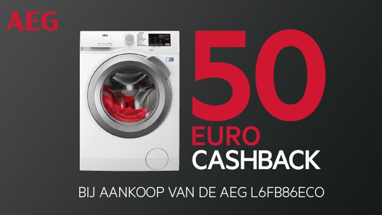 AEG Cashback actie