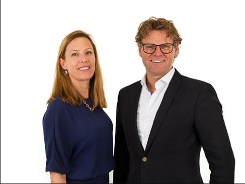 Hans Knipscheer en Marie-José van den Kommer